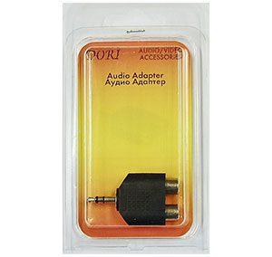 2365 Переходник Plug 3,5(шт) на 2 RCA(гн)