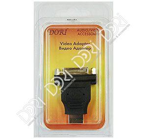 2378 Переходник DVI гнездо — HDMI штекер