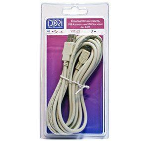 2409 Кабель USB A шт. — mini USB (5pin) шт. L=3 м