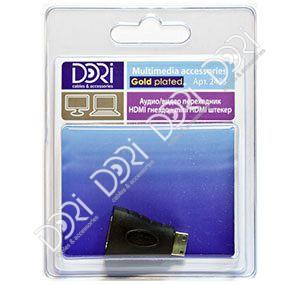 2433 Переходник HDMI гнездо — mini HDMI штекер