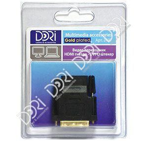 2437 Переходник HDMI гнездо — DVI штекер
