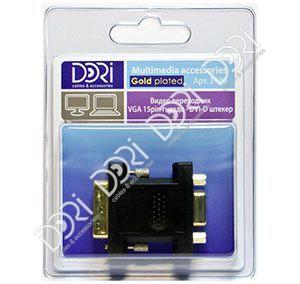 2439 Переходник VGA гнездо — DVI штекер