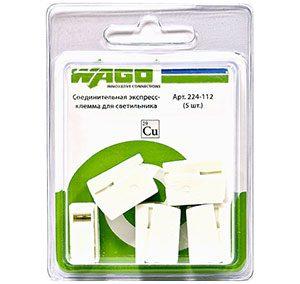 2581 Соединительная экспресс-клемма для светильника (224-112) 5 шт.