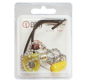 40644 Выключатель с цепочкой для бра (silver)