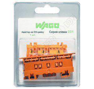 41573 Адаптер на DIN-рейку (для клемм серии 221) 1 шт. [81,72 р.]