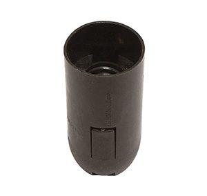 45267 Патрон E14 подвесной (термостойкий пластик, черный)